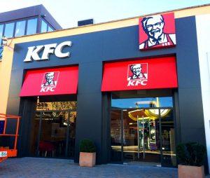 Decoración interior y rotulación exterior | KFC