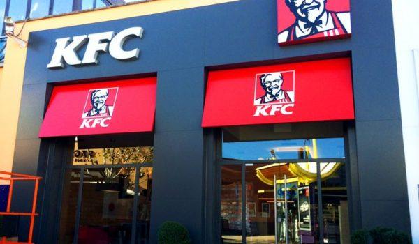 Decoración interior y rotulación exterior   KFC