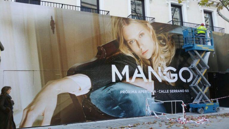 Fondeado de vinilo para la Firma Mango