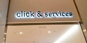 Rotulación integral para Click & Service