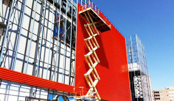 Revestimiento de fachadas. ¿Cómo se coloca un panel composite?